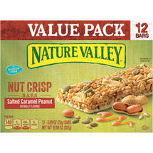 Nature Valley Salted Caramel Peanut Nut Crisp Bars