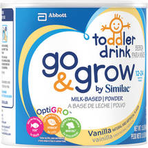 Similac Go & Grow Milk-Based Powder Vanilla