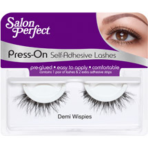 Salon Perfect Press-On Self Adhesive Eyelashes Demi Wispies