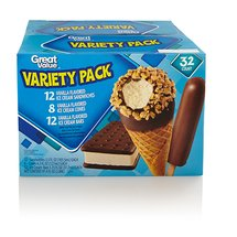 Great Value Variety pk Ice Cream Treats