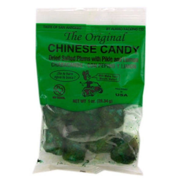 Alamo Candy Chinese Dried Salted Plums With Pickle & Lemon