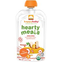 Happy Baby Organic Baby Food Stage 3 Chick Chick