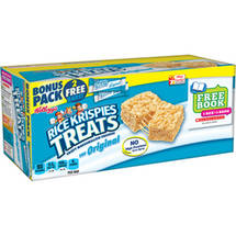 Kellogg's Rice Krispies Treats Original Crispy Marshmallow Squares