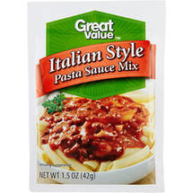 Great Value Italian Style Spaghetti Sauce Mix