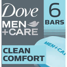 Dove Men + Care Clean Comfort Body + Face Bar