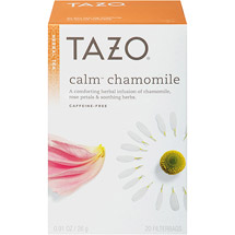 Tazo Calm Herbal Infusion Caffeine Free Tea Bags