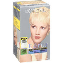 L'Oreal Paris Feria Haircolor 205 Extra Bleach Blonde