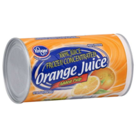 Kroger Frozen Juice Orange