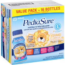 PediaSure Vanilla Nutrition Shakes 8 fl oz/16 ct