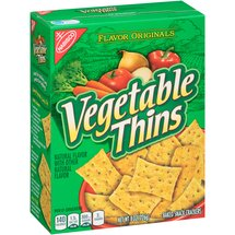 Nabisco Vegetable Thins Baked Snack Crackers