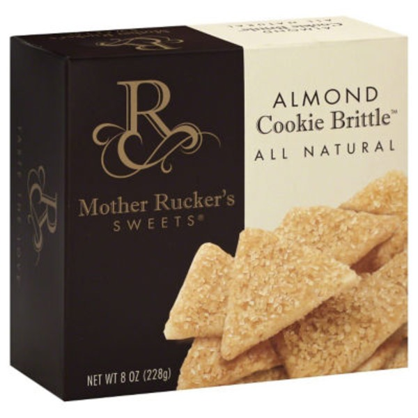 Mother Rucker All Natural Almond Cookie Brittle