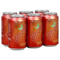 Zevia Zero Calorie Orange Soda