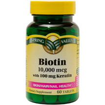Spring Valley Biotin Tablets