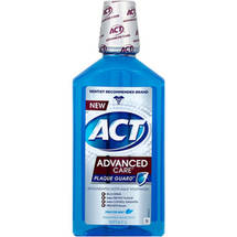 ACT Advanced Care Plaque Guard Frosted Mint Antigingivitis/Antiplaque Mouthwash