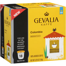 Gevalia Colombia 100% Arabica Coffee K-Cups