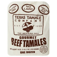 Texas Tamale Company Gourmet Beef Tamales