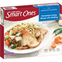 Weight Watchers Smart Ones Smart Creations Homestyle Turkey Breast with Stuffing