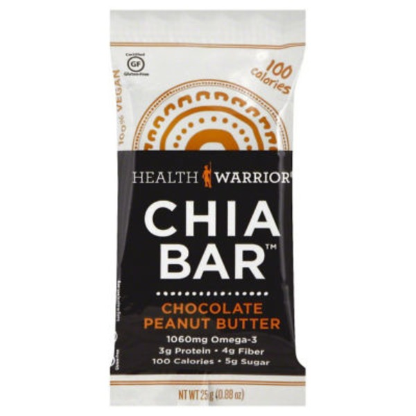 Health Warrior Chia Bar Chocolate Peanut Butter