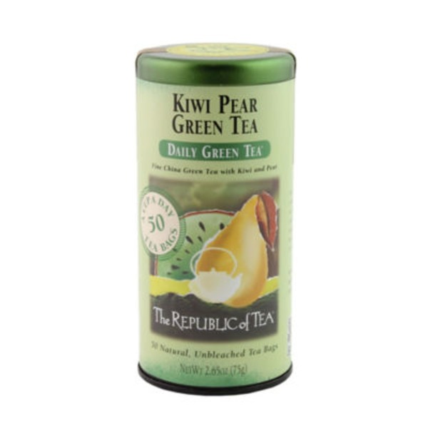 The Republic of Tea Kiwi & Pear Green Tea, Daily Green Tea