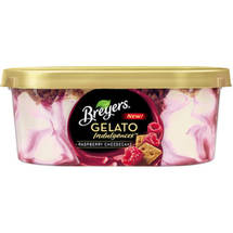 Breyers Indulgences Raspberry Cheesecake Gelato