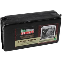 Cabot Creamery 3-Year Aged White Cheddar