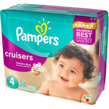 Pampers Cruisers Diapers Jumbo Pack Size 4