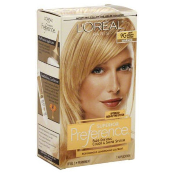 Superior Preference 9gr Warmer Light Reddish Blonde Hair Color