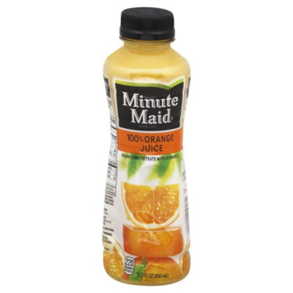 Minute Maid Juices To Go Orange Original 100% Juice