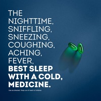 Vicks NyQuil Cold & Flu Nighttime Relief LiquiCaps 16 ct Respiratory Care