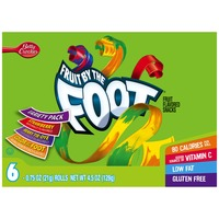 Betty Crocker Fruit by the Foot Strawberry/Berry Tie-Dye/Color by the Foot Variety Pack Fruit Flavored Snacks