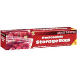 Smart Shopper Gallon Size Storage Bags