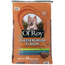 Ol' Roy Cheeseburger Flavor Dog Food