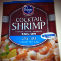 Kroger Cocktail Shrimp 26/30