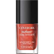 CoverGirl Outlast Stay Brilliant Nail Gloss 35 Totally Tulip