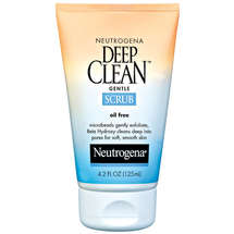 Neutrogena(R) Gentle Scrub Oil Free Deep Clean(R)