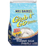 Mrs Baird?s Grab N' Go Favorites Powdered Sugar Donuts