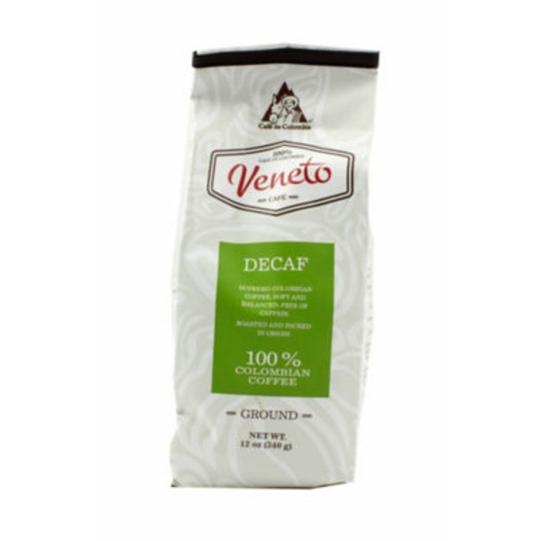 Cafe Veneto Decaf Ground Coffee