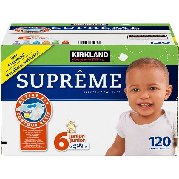 Kirkland Signature Diapers Size 6