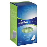 Always Infinity Always Infinity Size 2 Super Pads with Wings, Unscented, 32 ct Feminine Care