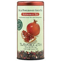The Republic of Tea Superfruit Decaf Pomegranate Green Tea