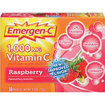 Emergen-C Raspberry Packets Dietary Supplement
