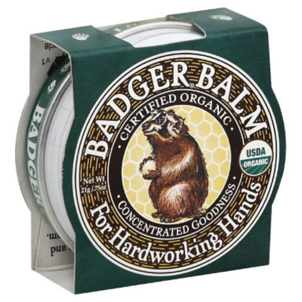 Badger Organic Balm for Hardworking Hands