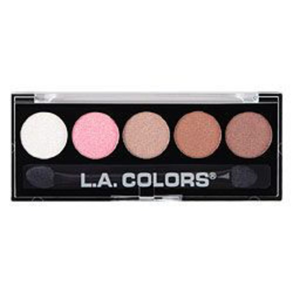 L.A. Colors 5 Color Metallic Eyeshadow Unforgettable EP24