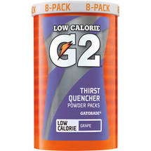 G2 G Series Perform Grape Powder Packs