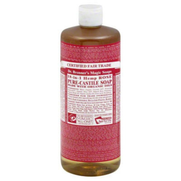 Dr. Bronner's Magic Soap Hemp Rose
