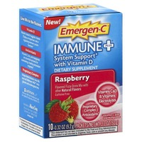 Emergen-C Immune+ with Vitamin D Raspberry Drink Mix Dietary Supplement