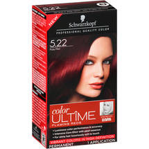 Schwarzkopf Color Ultime Flaming Reds Hair Coloring Kit 5.22 Ruby Red