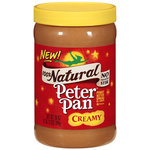 Peter Pan 100% Natural Creamy Peanut Butter Spread