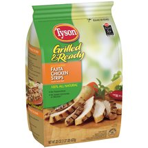 Tyson Grilled & Ready Fajita Chicken Strips