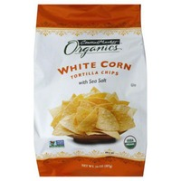 Central Market Organics White Corn With Sea Salt Tortilla Chips